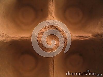 макрос яичка коробки