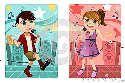 малыши караоке пея