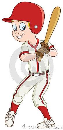 малыш бейсбола