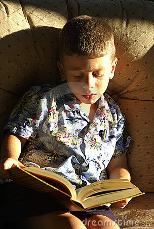 малыш чтения