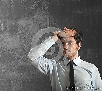 маска бизнесмена