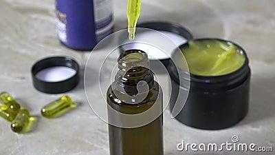 масло, капсулы и соли кбр видеоматериал