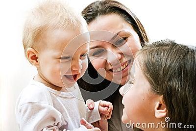 мать дочей