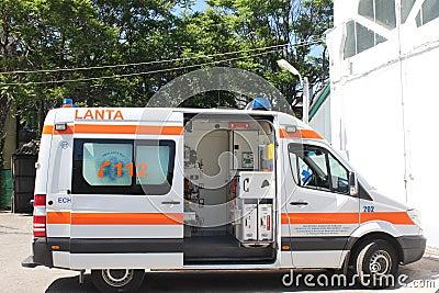 Машина скорой помощи Редакционное Фото