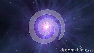 межзвёздное облако 4k играет главные роли космос тоннелей вселенной лазера энергии лучей, атомная радиация огня сток-видео