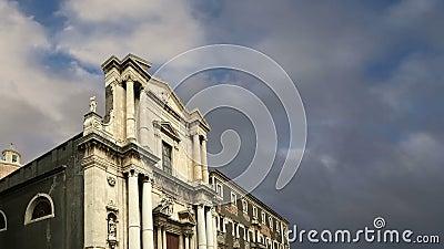 места Италии Сицилии наследия католической церкви catania зодчества мир unesco барочного южный Сицилия, южная Италия Барочное зод видеоматериал