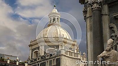места Италии Сицилии наследия католической церкви catania зодчества мир unesco барочного южный Сицилия, южная Италия Барочное зод акции видеоматериалы