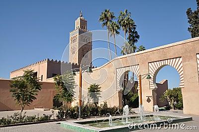 мечеть marrakech koutoubia