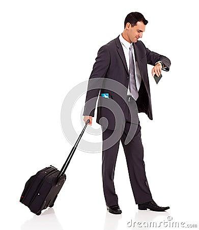 Мешок вагонетки бизнесмена