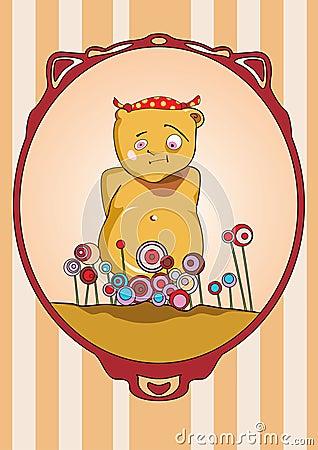 Медведь на празднике