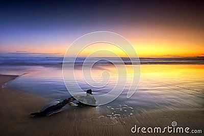минимальный seascape