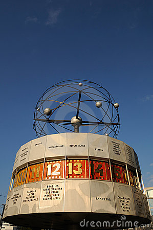 мир часов berlin Редакционное Стоковое Изображение