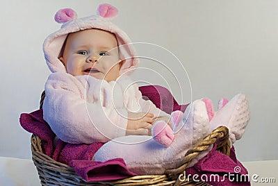 эмочка в костюме кролика
