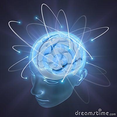мозг яркий