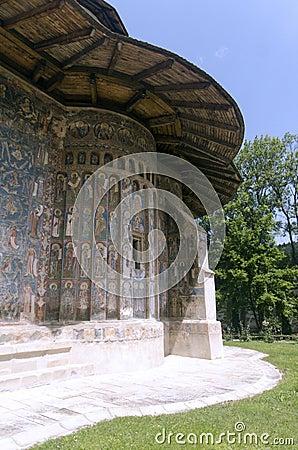 Монастырь Voronet