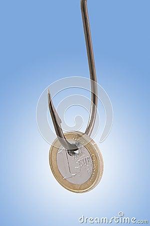 Монетка евро
