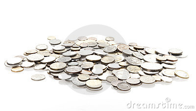 монетки изолировали