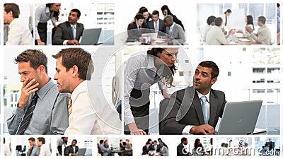 Монтаж деловых встреч