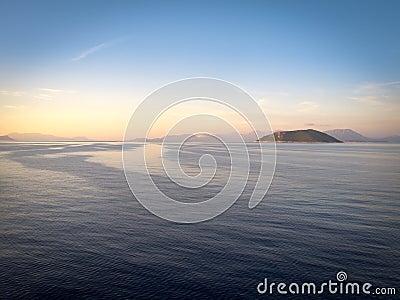 море Греции ionian
