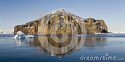 Море Weddell в Антарктике