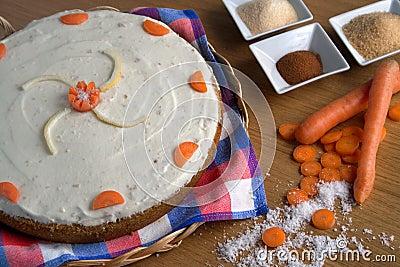 морковь торта