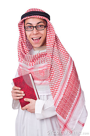 Молодой арабский человек