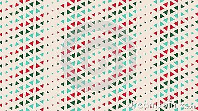 Мультицветный мультицветный мультицветный мультипликатор, векторный, ретро- и винтажный рисунок, зацикленный анимационный фон бесплатная иллюстрация