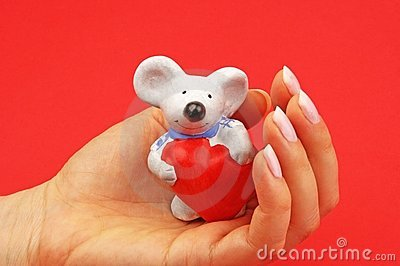 мышь figurine