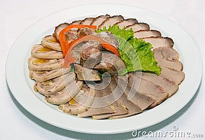 мясо вырезывания