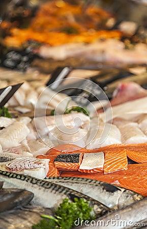Мясо рыб