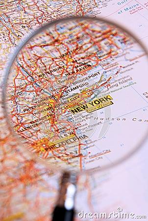 назначение New York