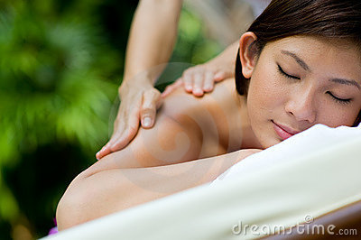 Напольный массаж