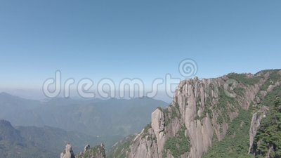 Национальный парк Sanqingshan в провинция Shangrao, Цзянси, Китай видеоматериал