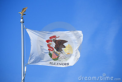 Национальный флаг Иллиноис