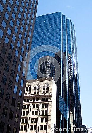 небоскребы boston