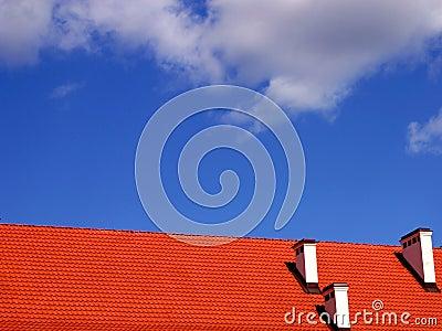 небо крыши