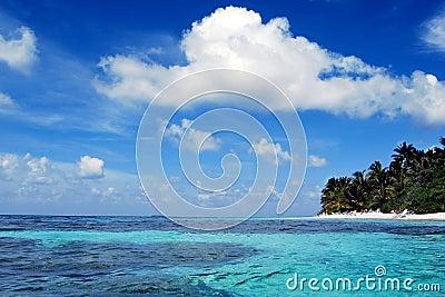 небо океана