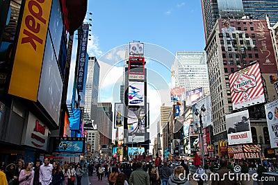 новые квадратные времена york Редакционное Стоковое Фото