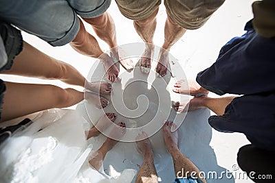 Ноги в круге