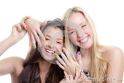 Ногти подростка
