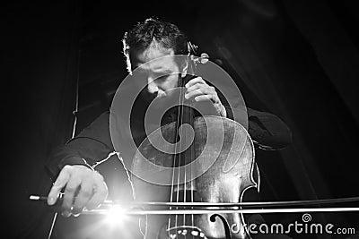 нот виолончели