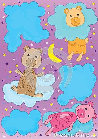 облако eps медведя