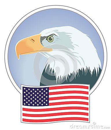 облыселый орел знамени