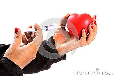 Обработка сердца