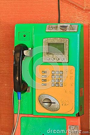 Общественный телефон