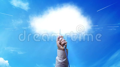 Облако - заткните в большие данные сток-видео