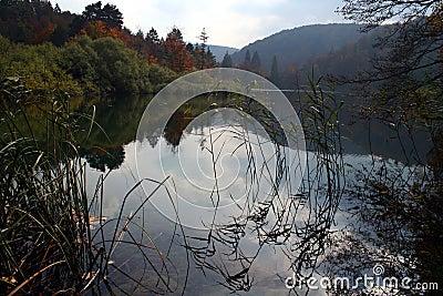 озеро падения