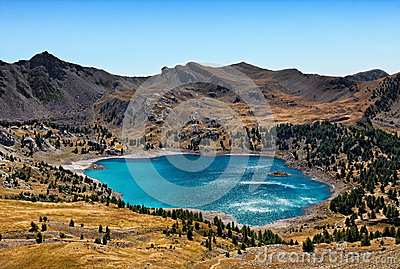 Озеро Allos (Lac D Allos)