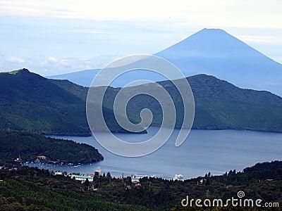 озеро kawaguchiko