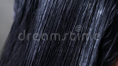 окрашивание волос, краска волос сток-видео